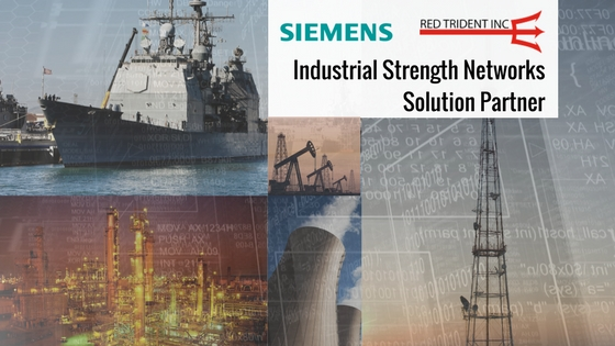 Red Trident Now a Siemens Industrial Strength Networks Partner
